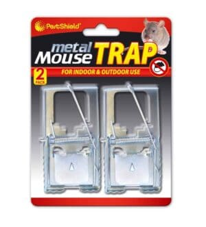 Pest Shield 2pc Metal Mouse Traps