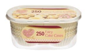 Queen Of Cakes 250pk Cake Cases