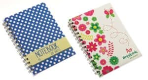 A5 Notebook-120Sht Designs