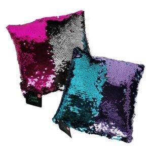Color Change Mini Sequin Cushions - Asst