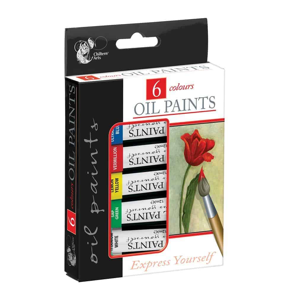 6Pk Oil Paints