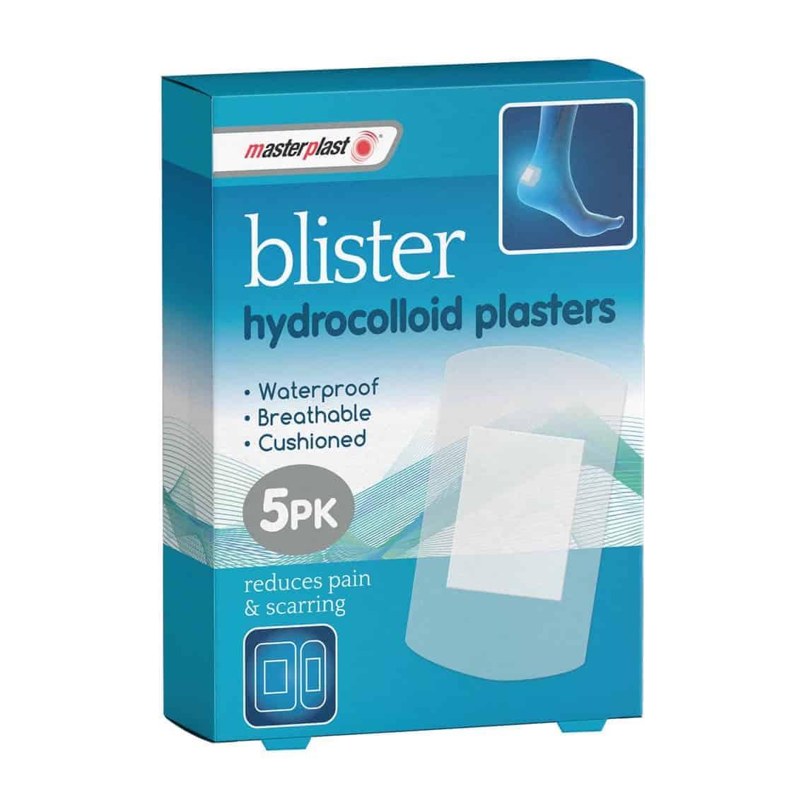 5Pk Hydrocollo1D Blister Plasters