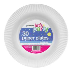 Home Maid 30pk Paper Plates