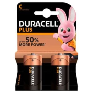 Duracell Batteries Plus Power -2pk C Size