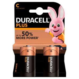 Duracell Batteries Plus Power -2pk C Size