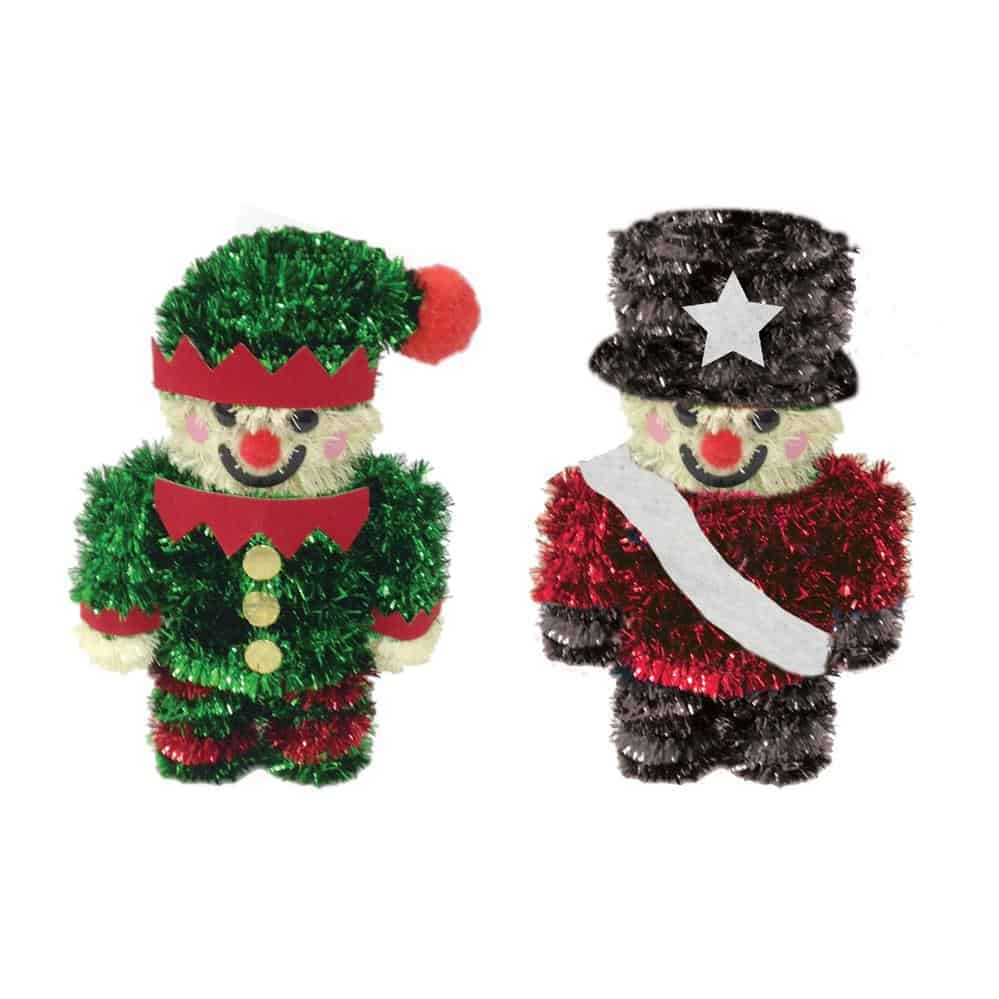 Tinsel Elf & Nutcracker
