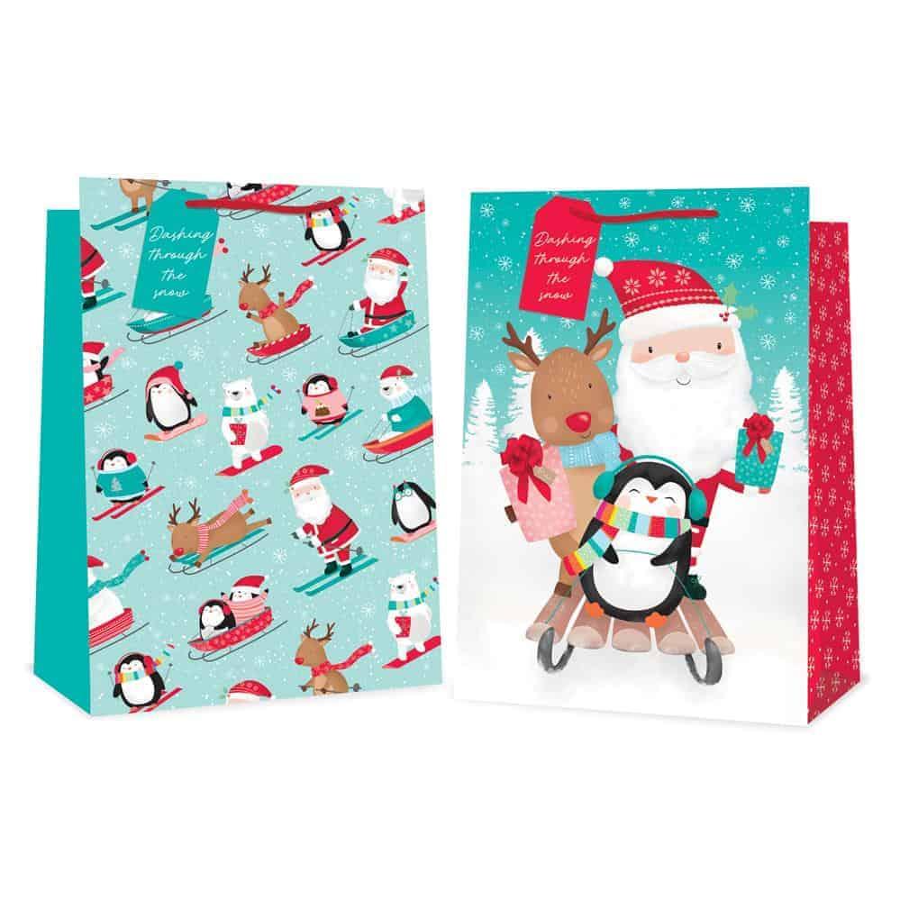 Jumbo Cute Xmas Gift Bag