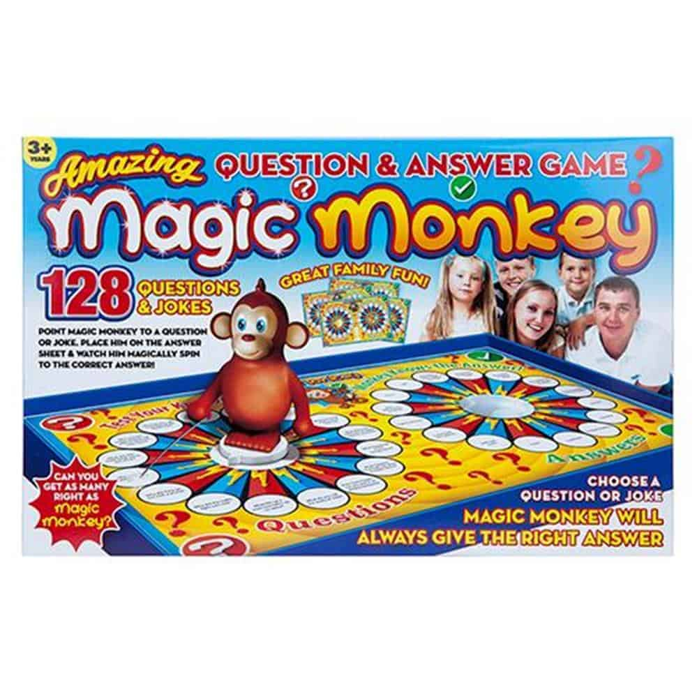 Magic Monkey Question+Answer Game