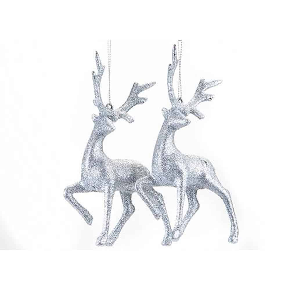 2Pk Reindeer Decorations