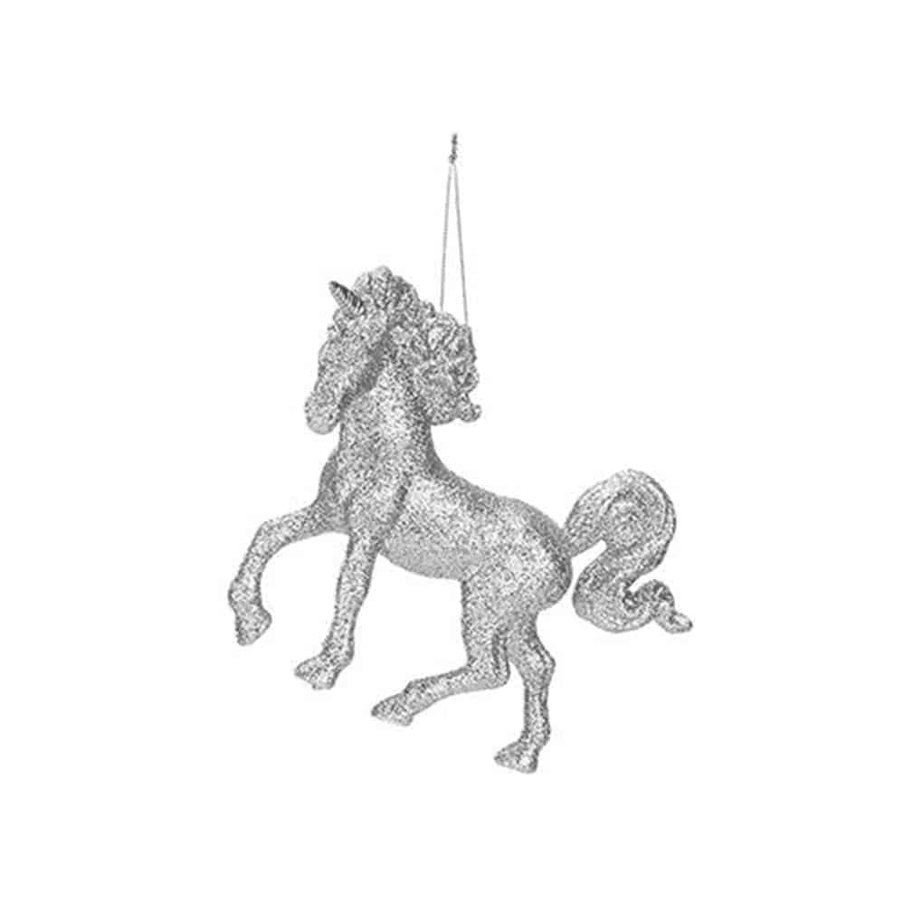 13Cm Hanging Unicorn Decoration