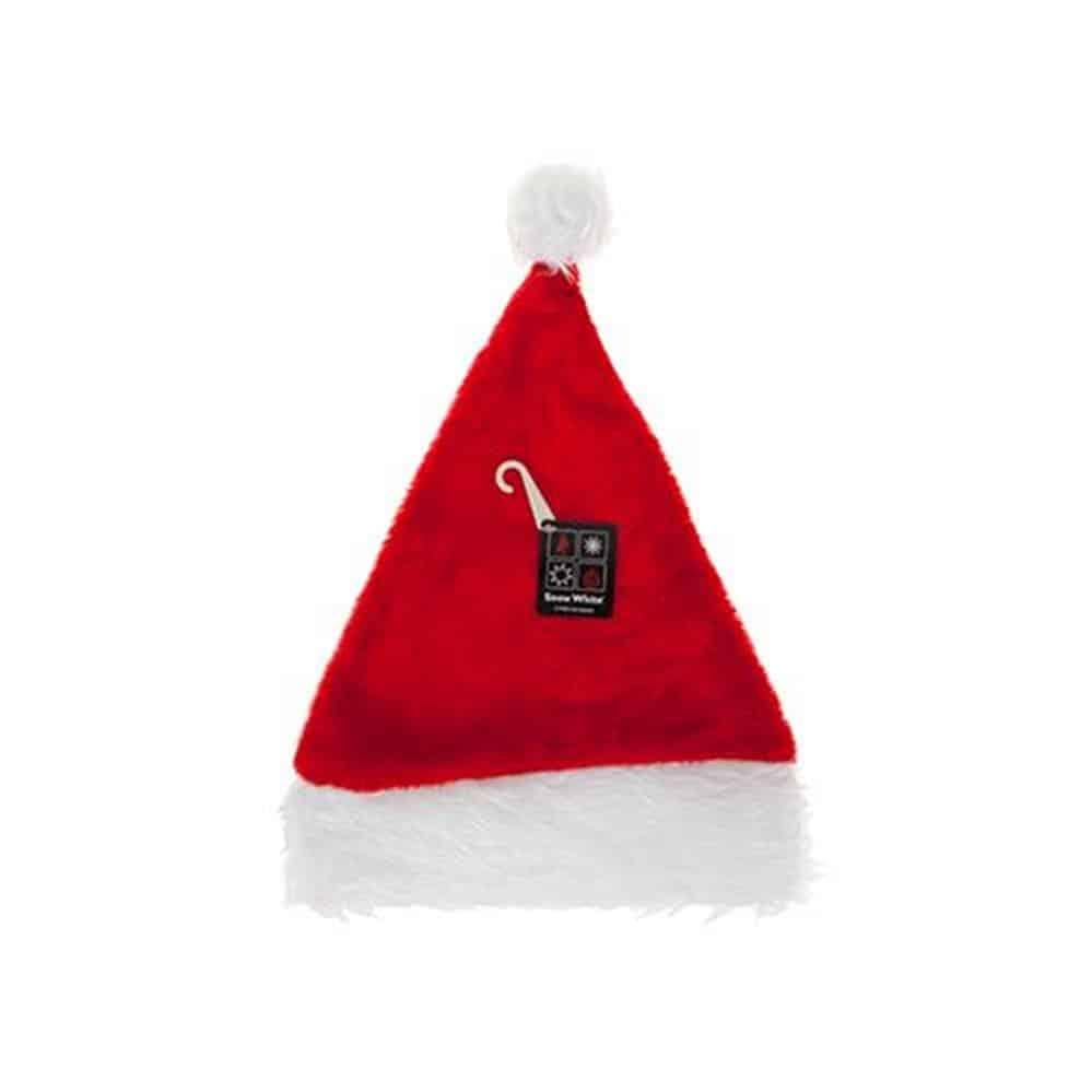 """12"""" Plush Santa Hat"""