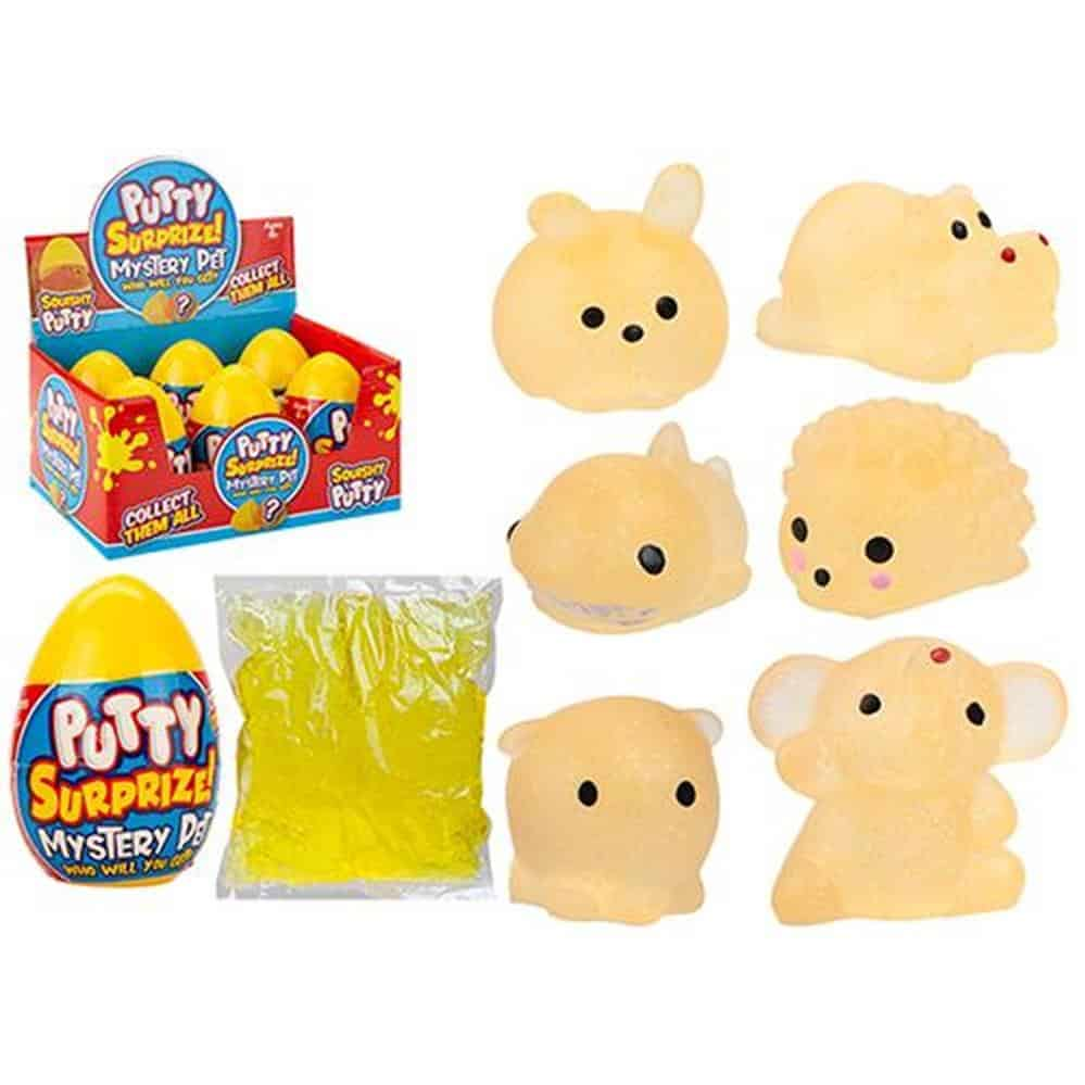 Lg Surprise Putty Pets Eggs