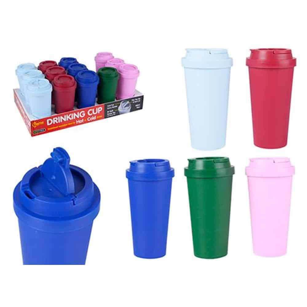 Double Wall 470Ml Insulated Drinking Cup