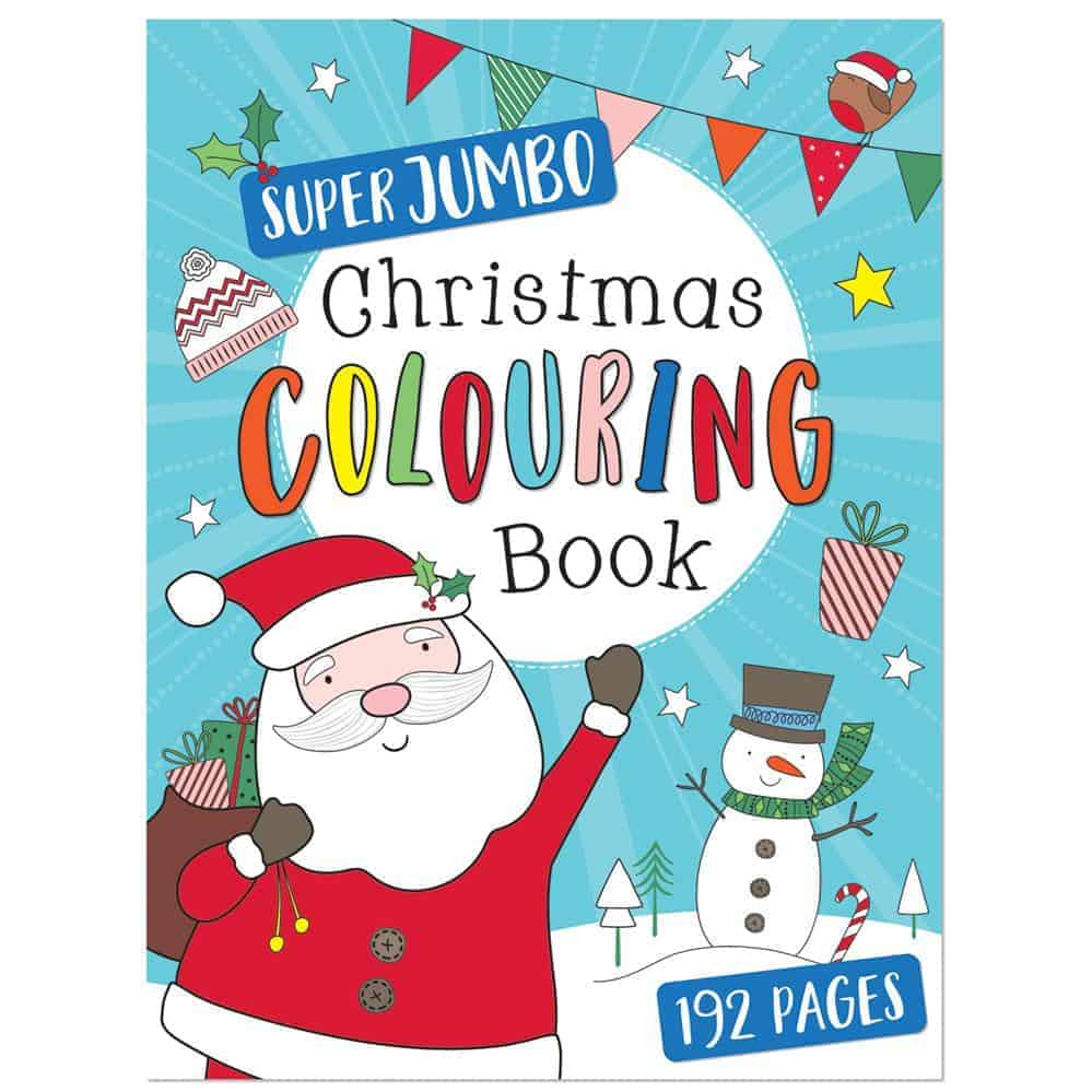Jumbo Xmas Colouring Book