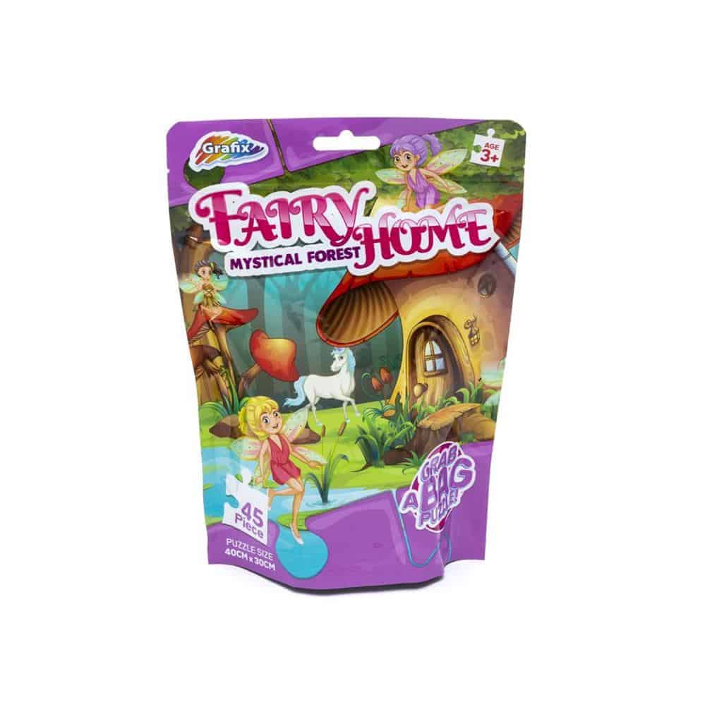 45Pc Fairy Mystical Forest Puzzles