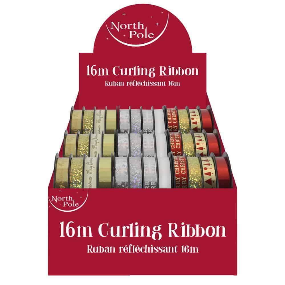 4X4M Xmas Curling Ribbon