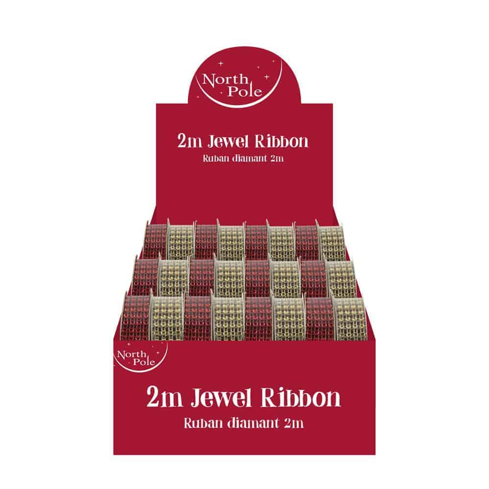 2M Jewel Ribbon