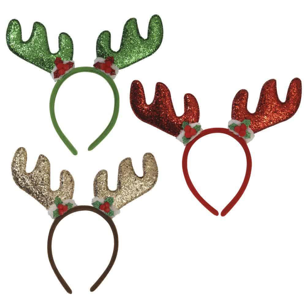 Sequin Antler Headband