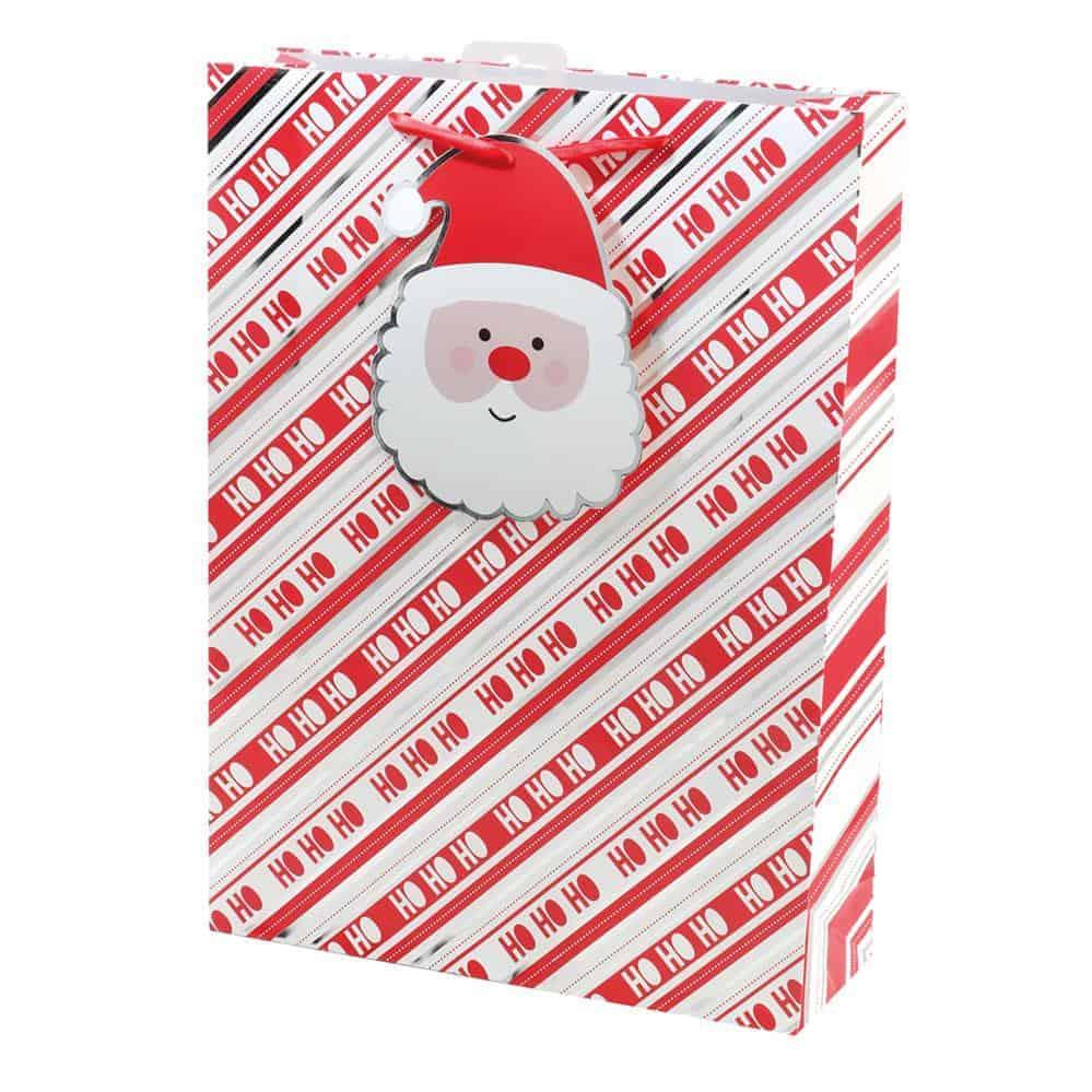 X-L Xmas Bag Santa Tag
