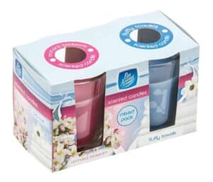 Pan Aroma 2pk Orchard Blossom & Fluffy Towels