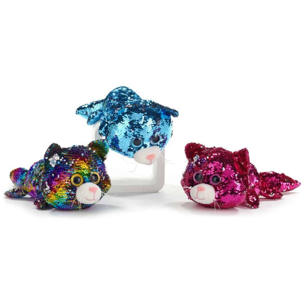 Sparlle Eyes Sequin Cat