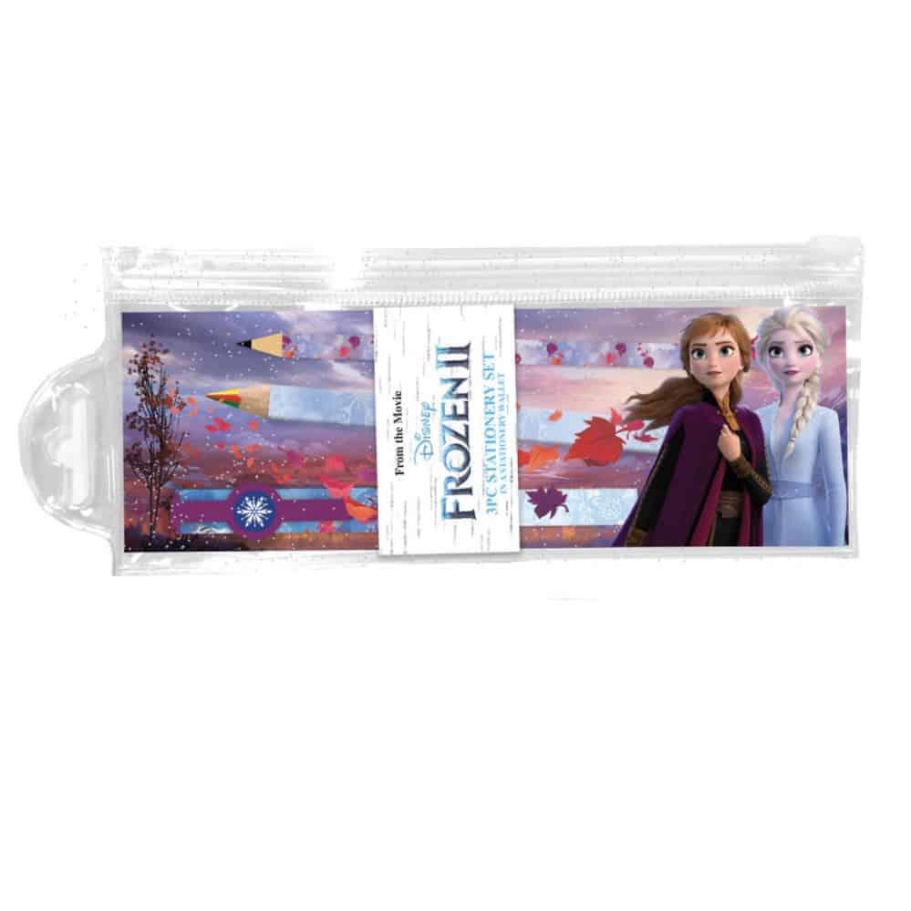 Frozen 2 Zip Filled Pencil Case