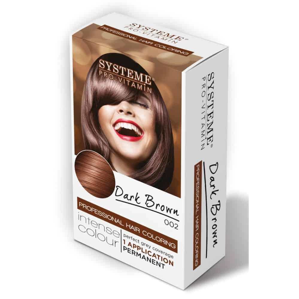 Systeme Hair Color Nat. Dark Brown 002