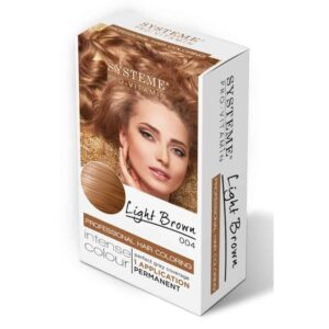 Systeme Hair Color Lt. Brown 004